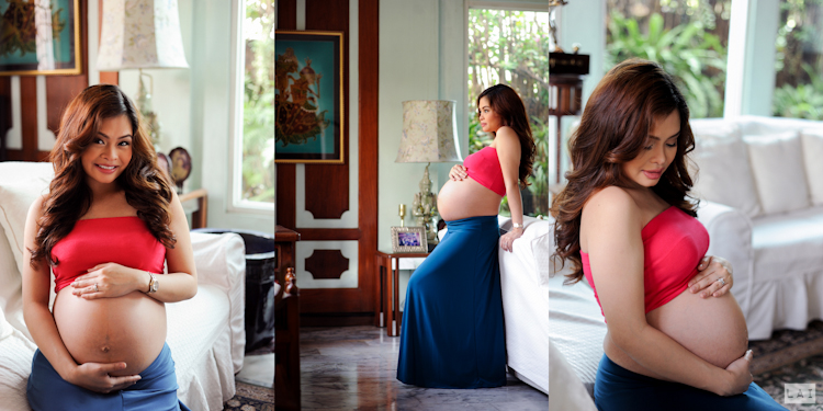 Maternity Portrait Shoot by Photographer Lai de Guzman