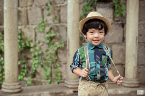 Children's Portraits by Photographer Lai de Guzman Pan de Amerikana