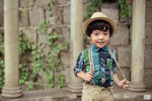 Children's Portraits by Photographer Lai de Guzman Pan de Amerikana