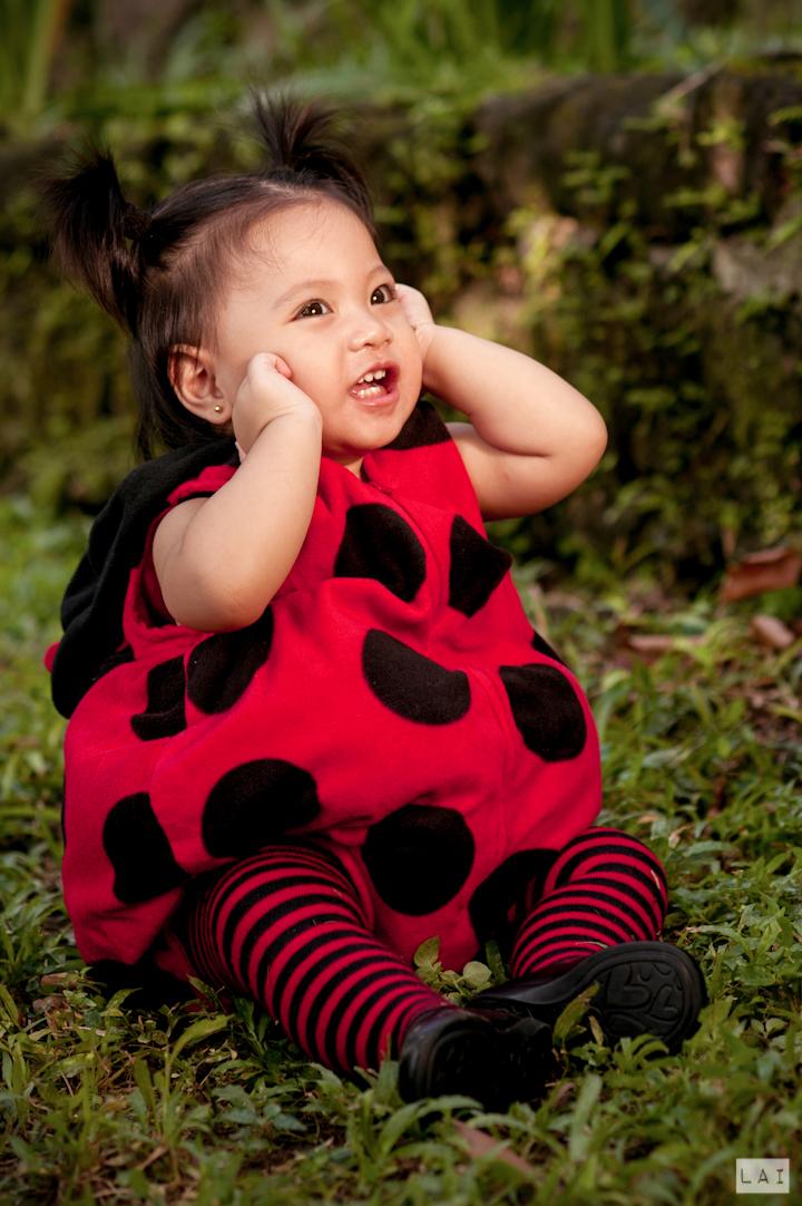 Lady Bug Kids Portrait Max Birthday Party Photographed by Lai de Guzman