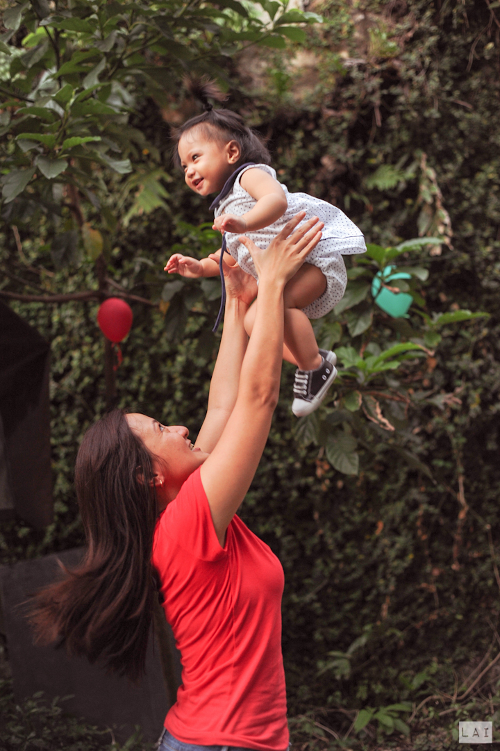 Mother and Child Photo at Max Birthday Party Photographed by Lai de Guzman