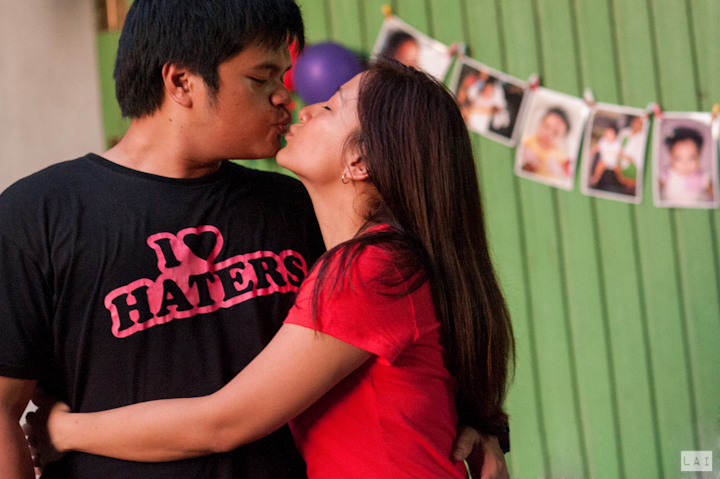 Jr and Isa at Max Birthday Party Photographed by Lai de Guzman