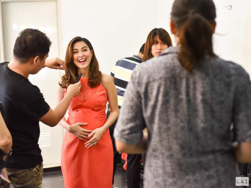 Behind the Scenes Smart Parenting Marian Rivera
