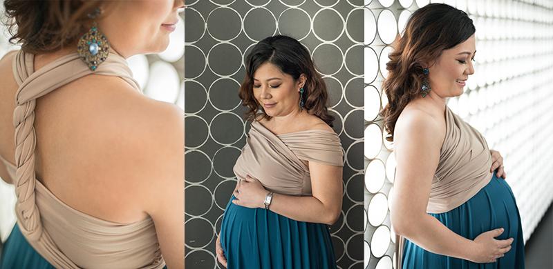 infinity dress | maternity dress | jec macaraic